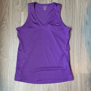 Reebok purple workout tank